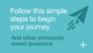 Follow this simple steps to begin your journey